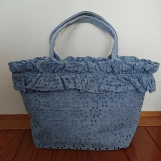 ジェーンマープル(JaneMarple)のジェーンマープル アイレットレースのバッグ(トートバッグ)