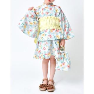 プティマイン(petit main)の新品♡ブランシェス  130 浴衣(甚平/浴衣)