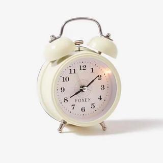 フォクシー(FOXEY)のフォクシー ノベルティ 時計(置時計)