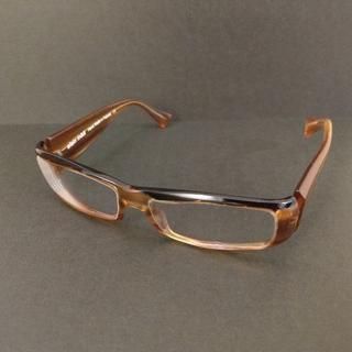 アランミクリ(alanmikli)の■美品■alain mikli アラン・ミクリ 茶系 眼鏡 メガネ(サングラス/メガネ)