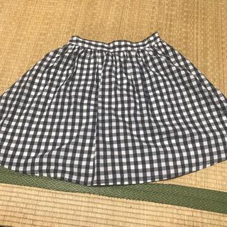 ウィゴー(WEGO)のギンガムチェック スカート(ひざ丈スカート)
