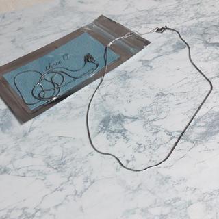 カスタネ(Kastane)のSALE本日まで【stainless snake chain necklace】(ネックレス)