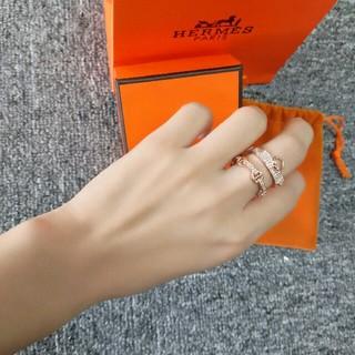 エルメス(Hermes)のHERMES 指輪 リング レディース 6# 新品 ファッション(リング(指輪))