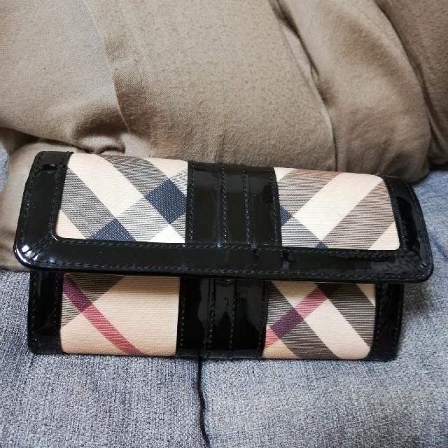 BURBERRY - BURBERRY長財布の通販 by yk's shop|バーバリーならラクマ