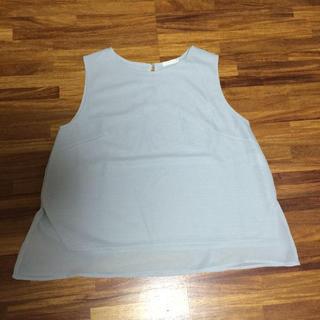 ジーユー(GU)の裾レース トップス☆ぴっぴ様専用♡(シャツ/ブラウス(半袖/袖なし))