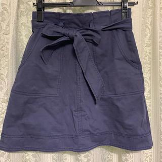 リリーブラウン(Lily Brown)のLily brown 台形スカート 美品(ミニスカート)