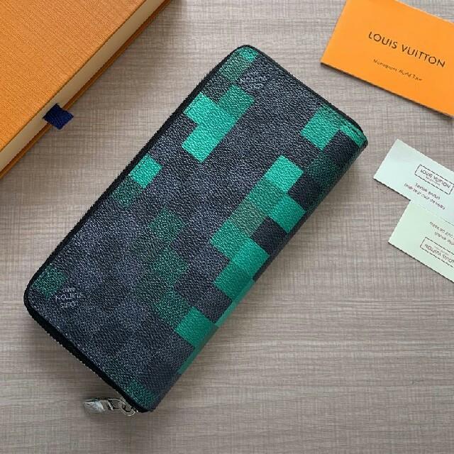 二つたたみ 長財布 ファスナー ルイヴィトン シリアルナンバー の通販 by SENZC8's shop|ラクマ