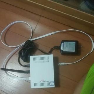 無線LANルーター AirPort WN-G54/A IO DATA製(PC周辺機器)