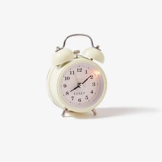 フォクシー(FOXEY)のFOXEY ノベルティ置き時計目覚まし時計(置時計)