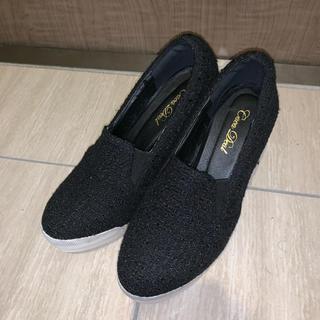 ココディール(COCO DEAL)のCOCODEAL 靴 ヒール スリッポン パンプス(ハイヒール/パンプス)