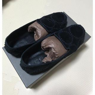 ミナペルホネン(mina perhonen)の土日限定値下げ☆ミナペルホネン 靴(スリッポン/モカシン)