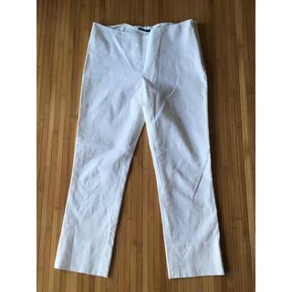 ラルフローレン(Ralph Lauren)のラルフローレン Ralph Lauren スキーニパンツ 白 日本製 7号(カジュアルパンツ)