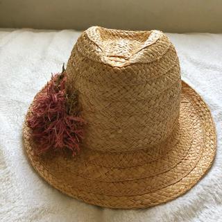 レイビームス(Ray BEAMS)のKIKIさま専用 BEAMS購入 Hatattack (麦わら帽子/ストローハット)