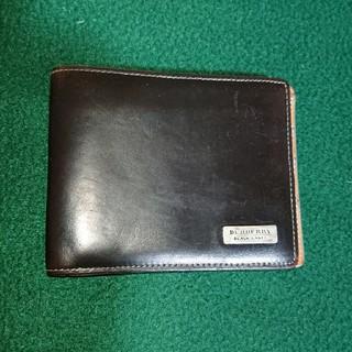 バーバリーブラックレーベル(BURBERRY BLACK LABEL)のバーバリーの2つ折り財布 メンズ‼️ (折り財布)