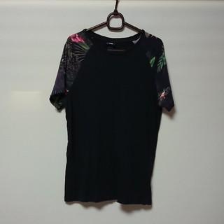 エイチアンドエム(H&M)のH&M  ボタニカル Tシャツ(Tシャツ/カットソー(半袖/袖なし))