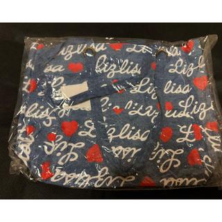 リズリサ(LIZ LISA)の新品タグ付き!リズリサ☆可愛いデニム地のトートバッグ!(トートバッグ)