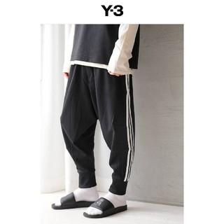 ワイスリー(Y-3)の新品 Y-3 3-STRIPES TRACK PANTS 国内完売商品(サルエルパンツ)