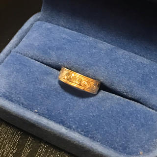 メーメ様お取り置き中 k18 ハワイアンジュエリーリング(リング(指輪))