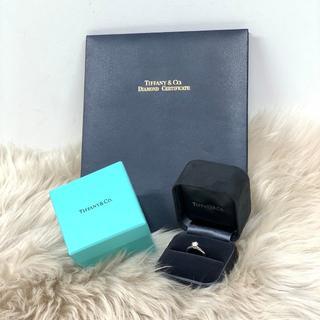 ティファニー(Tiffany & Co.)のティファニー ソリテール ダイヤリング Pt950 0.47ct (リング(指輪))