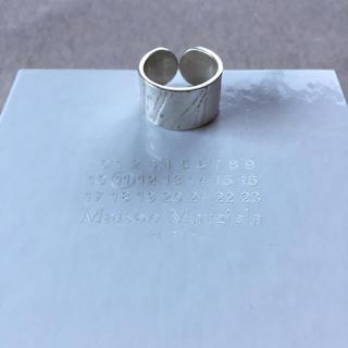 マルタンマルジェラ(Maison Martin Margiela)の新品 マルジェラ ヴィンテージ加工 4連リング 単品 16SS(リング(指輪))