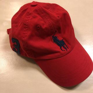 ポロラルフローレン(POLO RALPH LAUREN)のゆったん様専用 ラルフローレン 帽子 キッズ 赤色(帽子)