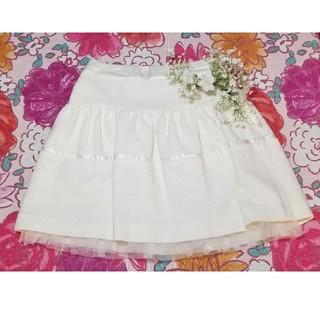 バービー(Barbie)のBarbie 白スカート(ミニスカート)