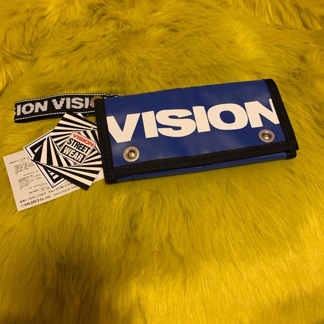 VISION 長財布 新品未使用の通販 by megumilky77's shop|ラクマ