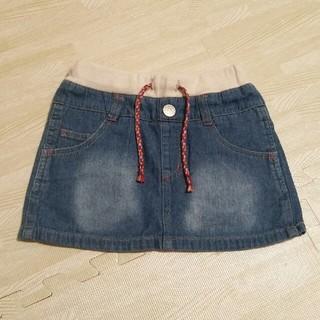 ブリーズ(BREEZE)のデニムスカート 100size(スカート)
