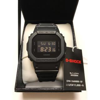 ジーショック(G-SHOCK)のG-SHOCK 未使用 DW-5600BB-1JF(腕時計(デジタル))