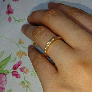 ヨンドシー(4℃)の4℃  k18 ダイヤモンドリング (リング(指輪))