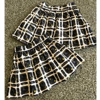 ボンポワン(Bonpoint)のボンポワン bonpoint リバティスカート 3 お揃い(スカート)
