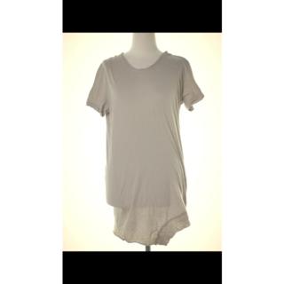 ユリウス(JULIUS)のユリウス JULIUS 半袖 丈長めの裾にアクセントのあるロングTシャツ 1(Tシャツ/カットソー(半袖/袖なし))