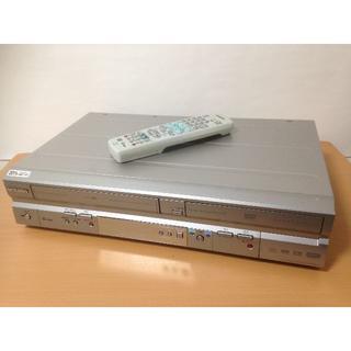 ミツビシ(三菱)の★リモコン有★三菱 DVR-S320 VTR一体型DVDレコーダー ジャンク J(DVDレコーダー)