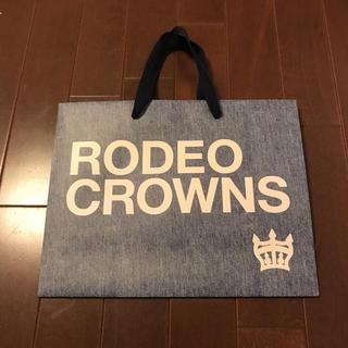 ロデオクラウンズワイドボウル(RODEO CROWNS WIDE BOWL)の大人気☆ロデオクラウンズワイドボウルのショッパー(ショップ袋)