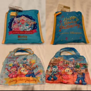 ダッフィー(ダッフィー)のハッピーミュージック エコバッグ ダッフィー     香港ディズニー(エコバッグ)