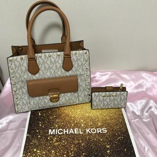 マイケルコース(Michael Kors)のマイケルコース  バッグと折り財布セット 新品未使用品(ショルダーバッグ)
