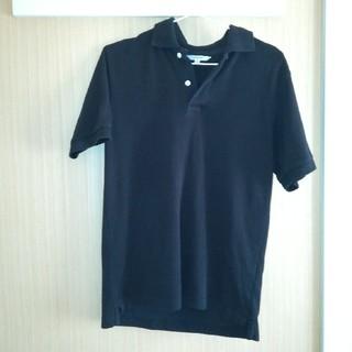 ユニクロ(UNIQLO)の黒 ポロシャツ ユニクロ(ポロシャツ)