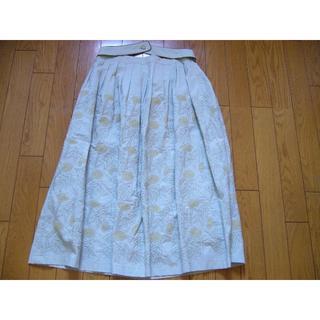 ミナペルホネン(mina perhonen)のmina perhonen  tanpopo  タンポポ スカート:36 新品(ひざ丈スカート)