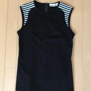 バーニーズニューヨーク(BARNEYS NEW YORK)のボーダーズアットバルコニー タンクトップ(Tシャツ(半袖/袖なし))