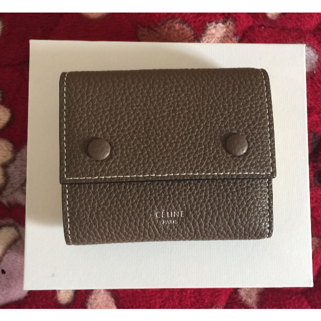 celine - CELINE 三つ折り財布の通販 by すー。's shop|セリーヌならラクマ