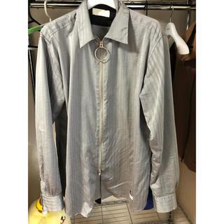 サンシー(SUNSEA)のNEONSIGN 17ss リングジップシャツ(シャツ)