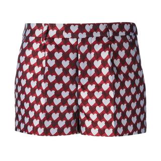 レッドヴァレンティノ(RED VALENTINO)のRed valentino  レッドバレンティノ  ハート柄のショートパンツ(ショートパンツ)