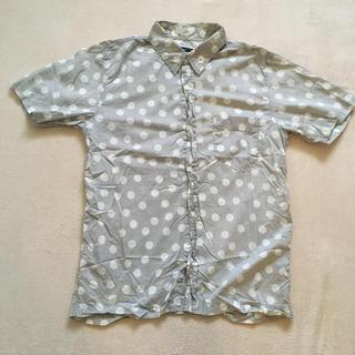 ツモリチサト(TSUMORI CHISATO)のツモリチサト  ドット 半袖シャツ サイズ3(シャツ)