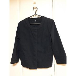 ムジルシリョウヒン(MUJI (無印良品))の無印良品 レディースジャケット濃紺(テーラードジャケット)