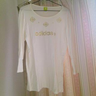 アディダス(adidas)の☆adidas Tシャツ☆(Tシャツ/カットソー(七分/長袖))