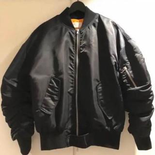 フィアオブゴッド(FEAR OF GOD)のFEAROFGOD 4TH COLLECTION ボンバージャケット 黒(ブルゾン)