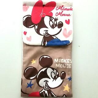 ディズニー(Disney)の未使用  ペーパーホルダーカバー   ミッキー&ミニー(トイレ収納)