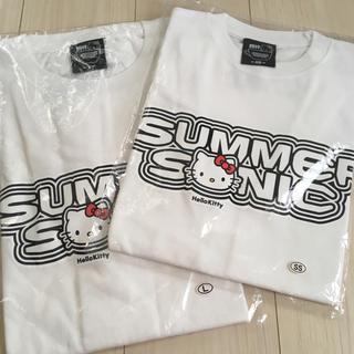 サンリオ(サンリオ)のsummer sonic×サンリオ HelloKitty L&SS 限定Tシャツ(Tシャツ/カットソー(半袖/袖なし))