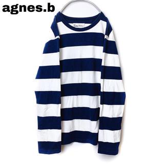 アニエスベー(agnes b.)の希少 agnes b. pour BIOTOP アニエスベー 太ボーダー ロンT(Tシャツ(長袖/七分))