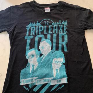 デビルユース(Deviluse)のTRIPLE AXE tour Tシャツ(ミュージシャン)